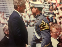 Ronald A. Lehman, Jr., MD with President Bill Clinton