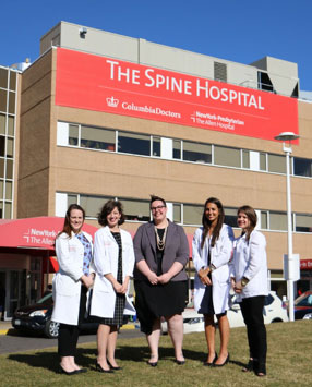 The Spine Hospital, NY-Dr. Lehman's Team