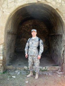 Ronald Lehman, Jr., MD in Iraq