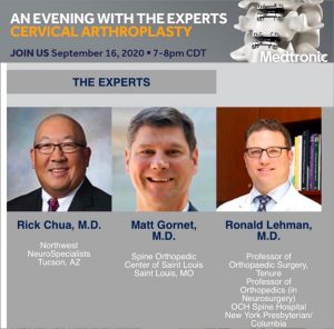 An Evening with the Experts: Cervical Arthroplasty