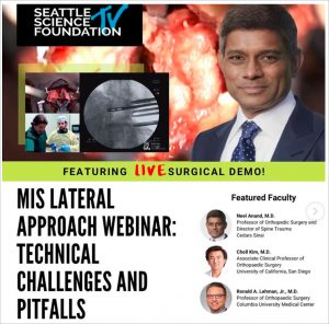 Seattle Science Foundation Webinar